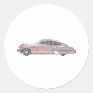Buick 1949 Dynaflow Runder Aufkleber