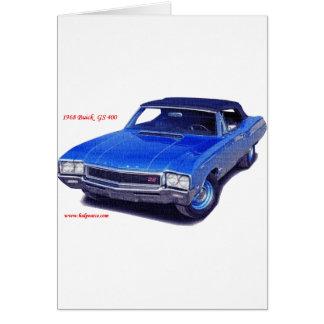 Buick 1968 GS 400 Karte