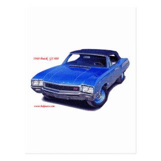 Buick 1968 GS 400 Postkarte