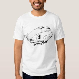 Buick-Führungs-Schlitten 1950 in weißem oder in T Shirts