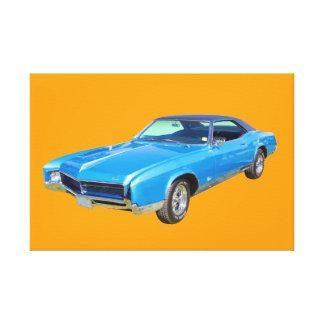 Buick- Rivieramuskel-Auto 1967 Leinwanddruck