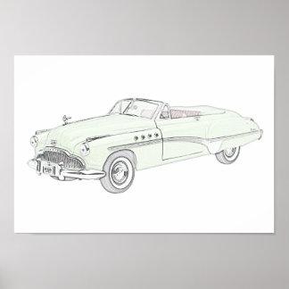 Buick Roadmaster 1949 Poster