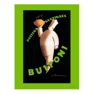 Buitoni Teigwaren-förderndes Plakat Postkarte
