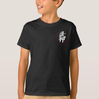 Bujinkan Wappen auf Schwarzem [Kinder] T-Shirt
