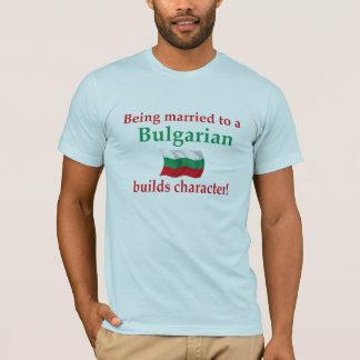 Bulgare errichtet Charakter T-Shirt
