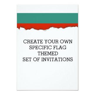 Bulgarien-Flagge Karte