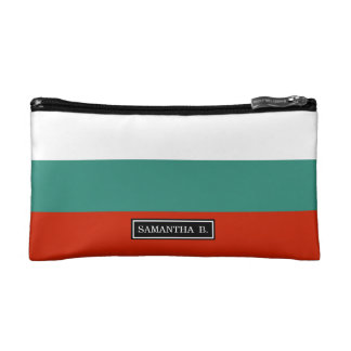 Bulgarien-Flagge Kosmetiktasche