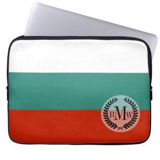 Bulgarien-Flagge Laptopschutzhülle