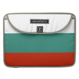 Bulgarien-Flagge MacBook Pro Sleeve