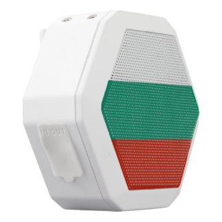 Bulgarien-Flagge Weiße Bluetooth Lautsprecher
