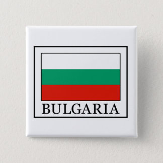 Bulgarien Quadratischer Button 5,1 Cm