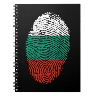 Bulgarische DNA-Liebe patriotisch Spiral Notizblock