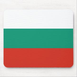 Bulgarische Flagge Mousepads