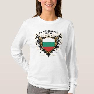 Bulgarische Mamma der Nr.-eine T-Shirt