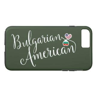 Bulgarischer Amerikaner entwirrter Herz-Handy-Fall iPhone 8 Plus/7 Plus Hülle