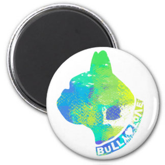 BULL RUNDER MAGNET 5,1 CM