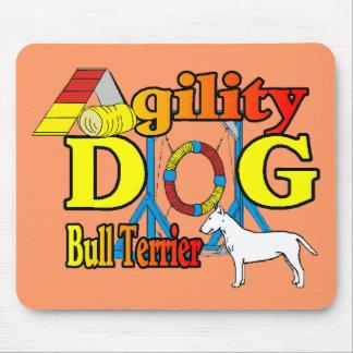 Bull_Terrier_Agility Mousepad