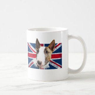 Bull Terrier UK grunge flag // TASSE CUP