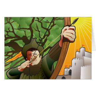 Bullauge für Robin Hood Karte