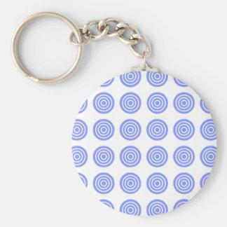 Bullaugen-Himmel-Blau Schlüsselanhänger