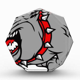 bulldog2 acryl auszeichnung