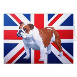 Bulldogge Henrys Briten Karte