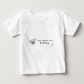 Bulldogge - mehr Hundezucht Baby T-shirt