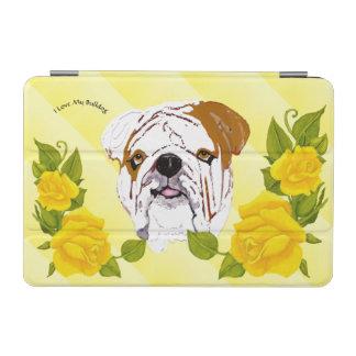 Bulldogge mit gelben Rosen iPad Mini Hülle