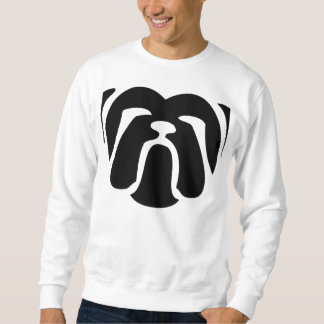 Bulldogge tribal.png sweatshirt