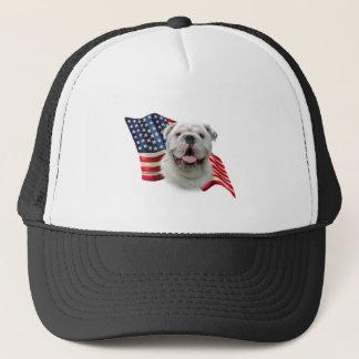 Bulldoggen-Flagge Truckerkappe
