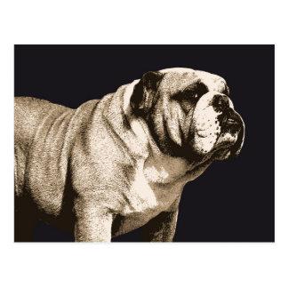 Bulldoggen-Geist Postkarte