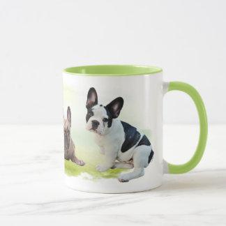 Bulldoggen - gemischt tasse