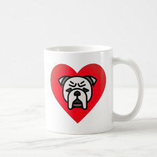 Bulldoggen-Liebe Kaffeetasse