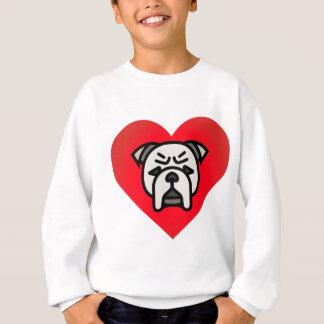 Bulldoggen-Liebe Sweatshirt
