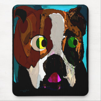 Bulldoggen-Produkte Mousepad