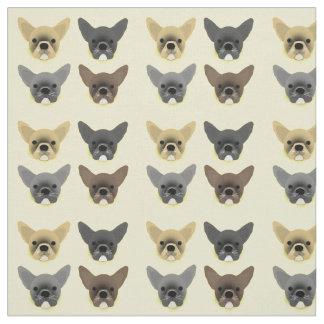 Bulldoggen-Welpen Stoff