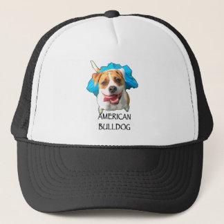 Bulldoggenamerikaner Truckerkappe