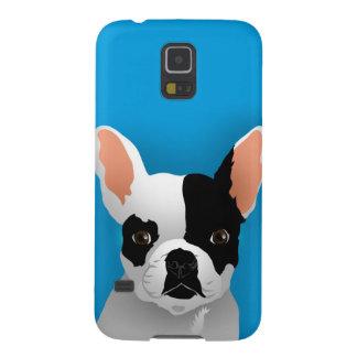 Bulldoggenkunst - französische Bulldogge Samsung Galaxy S5 Cover