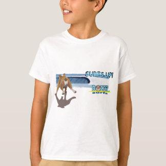 Bulldozer-Läufe zur Brandung T-Shirt