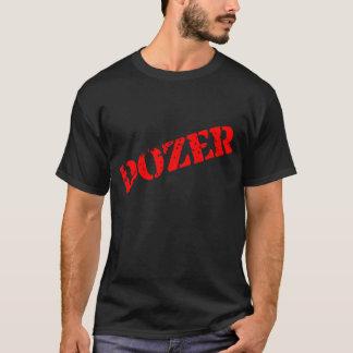 Bulldozer-schwarzer u. roter T - Shirt