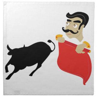 Bullfighter Serviette