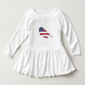 """Bullfinch """"amerikanische Flagge """" Kleid"""