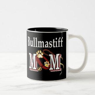Bullmastiff Mamma-Tasse Zweifarbige Tasse