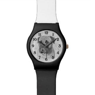 Bullmastiff Uhr