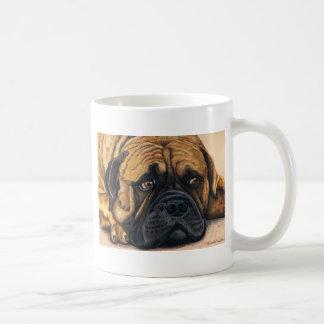 Bullmastiff wartete - Hundezucht-Kunst Tasse