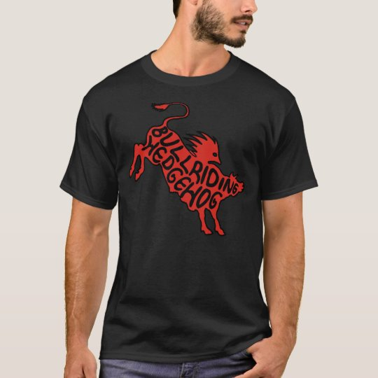 Bullriding Hedgehog T-Shirt