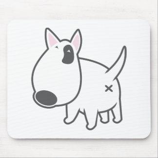 Bullterrier - bully_illu_bruno_3c mousepad