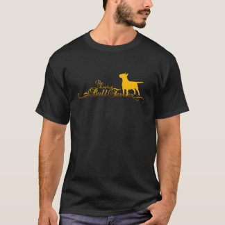 BULLTERRIER golden T-Shirt