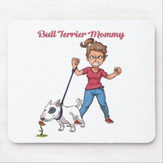Bullterrier-Mama Mousepad