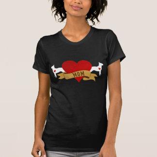 Bullterrier-Mamma [Tätowierungsart] T-Shirt